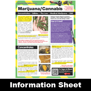 277: Marijuana / Cannabis Information Sheet