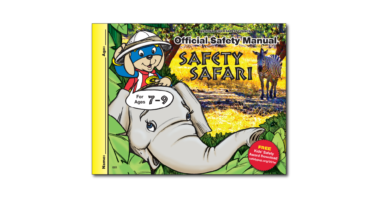 001: Official Safety Manual for ages 7-9
