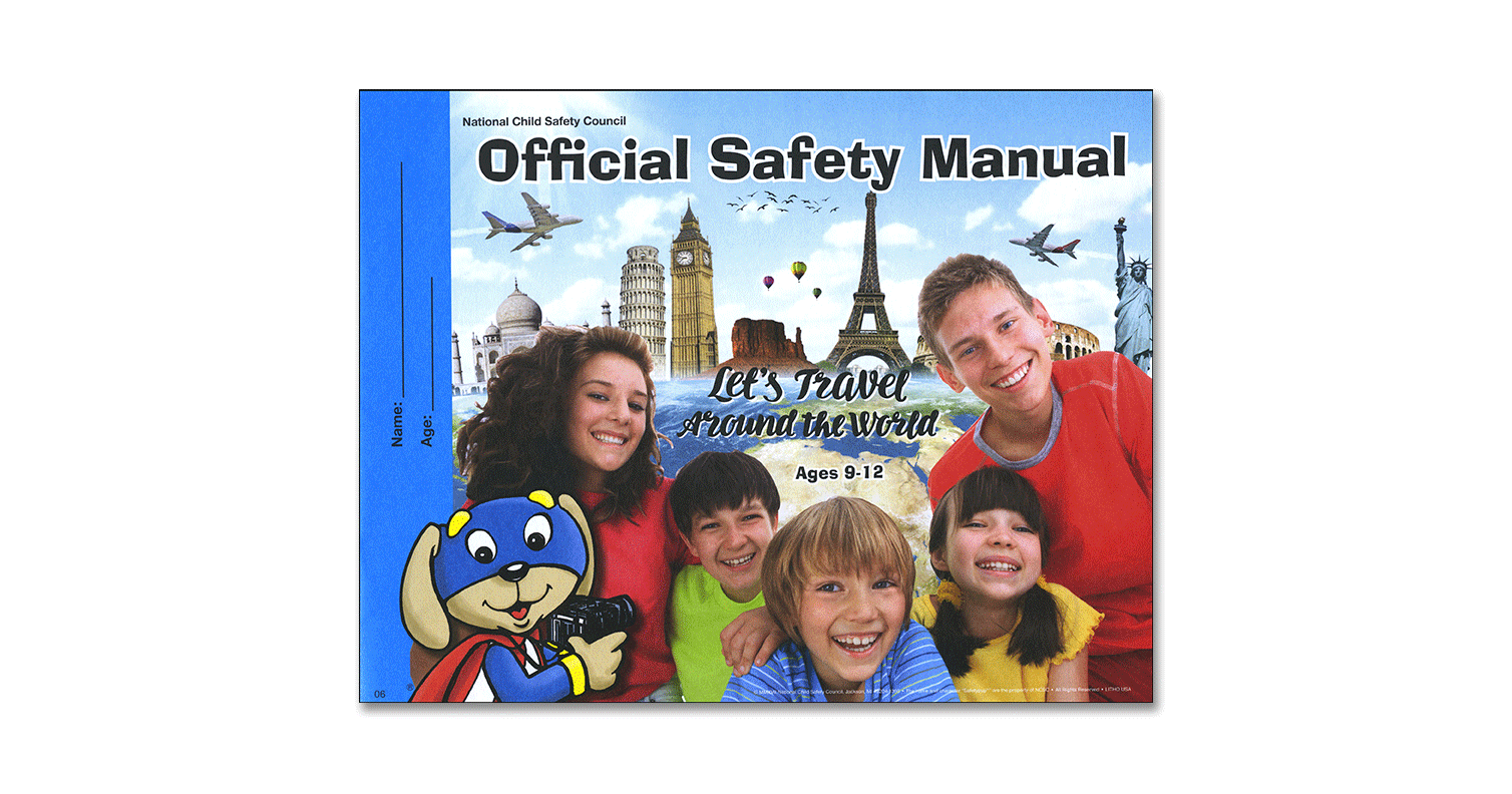 006: Official Safety Manual for ages 9-12