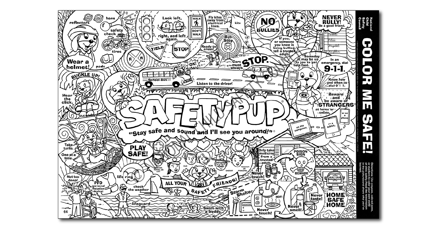 064: COLOR ME SAFE!