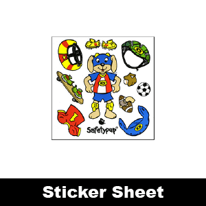 069: Safetypup<sup>®</sup> & Gear Sticker Sheet