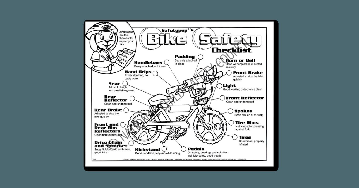 150: Safetypup®'s Bike Safety Checklist