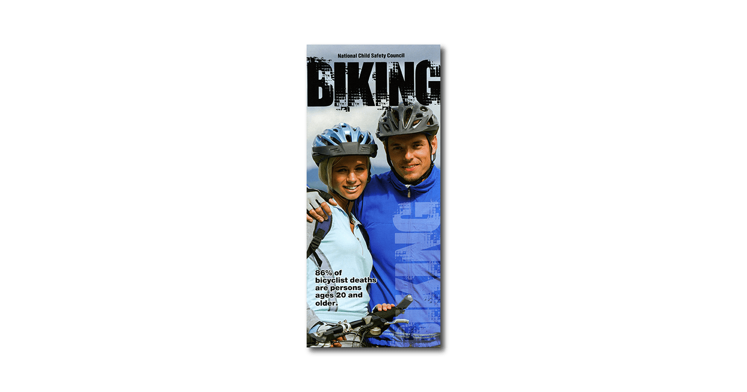 152: Biking 3-Fold Brochure