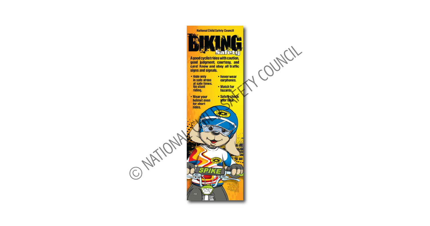 155: Bike Safety Bookmark