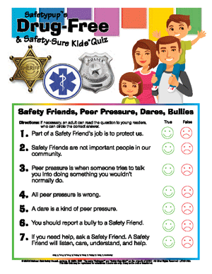 Safety Friends, Peer Pressure, Dares, Bullies
