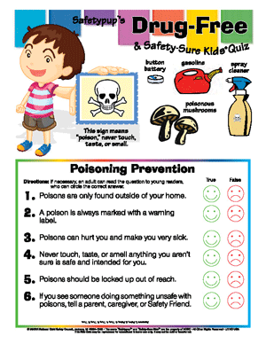 Poisoning Prevention
