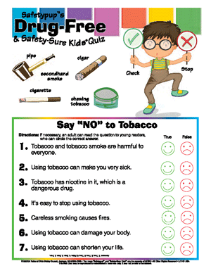 "Say ""NO"" to Tobacco"