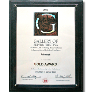 2015 Gallery of Superb Printing Gold Award