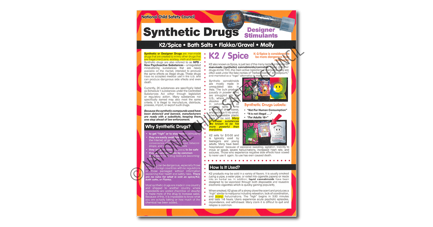 288: Synthetic Drugs 3-Fold