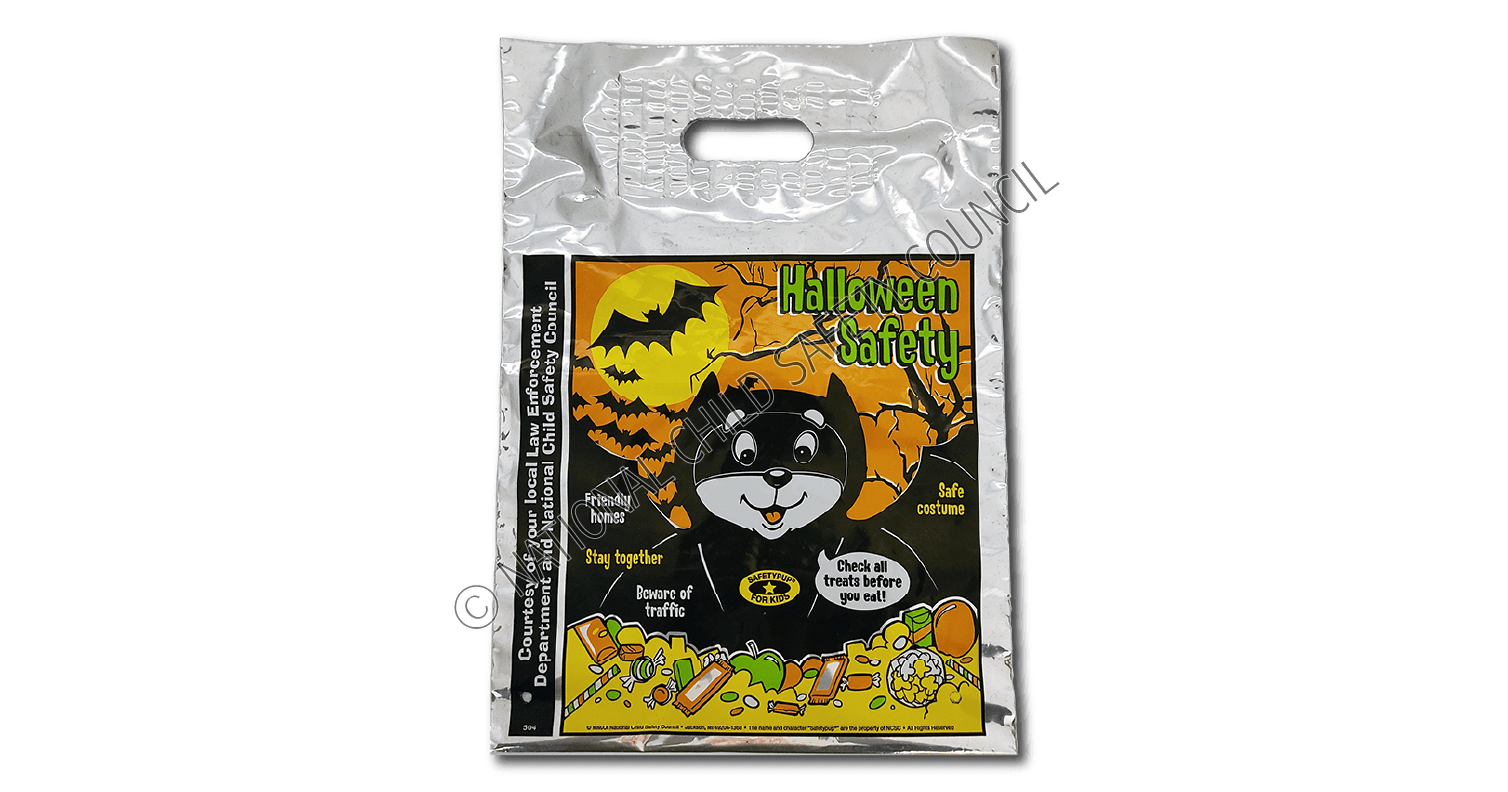 504: Safetypup® Halloween Trick-or-Treat Safety Rules Bag