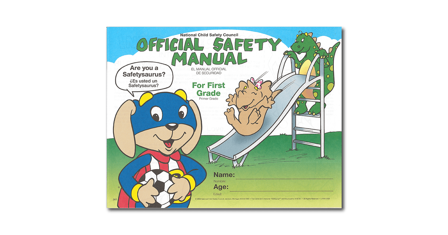 561: Safetypup® and the Safetysaurus Dinosaur Manual