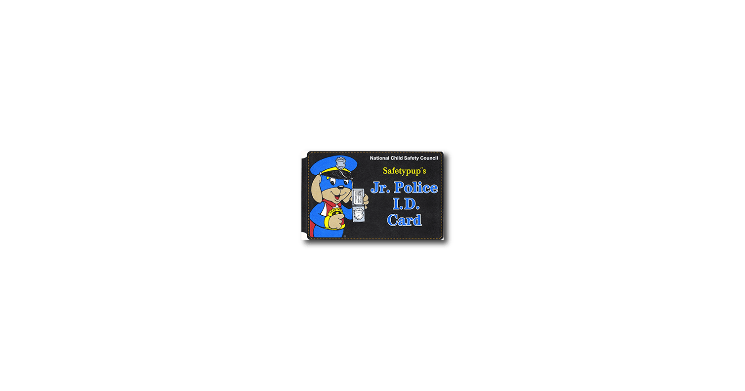 683: Jr. Police I.D. Card & Badge